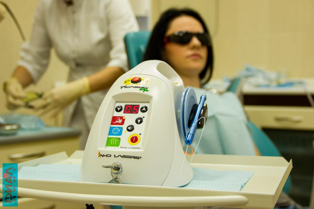 стоматологический лазер PICASSO в Диал-Дент
